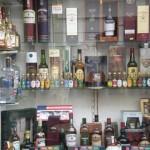 Plus de 70 whiskeys différent