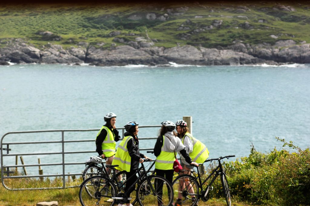 Cycling in Connemara